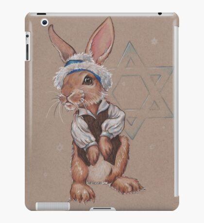Hanukkah Harry the Rabbit iPad Case/Skin