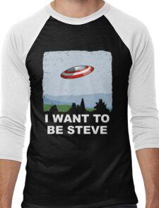 I Want To Be Steve Men's Baseball ¾ T-Shirt