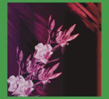 Floral Nerium  Baby Tee