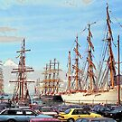 Tall Ships - Brooklyn by John Schneider