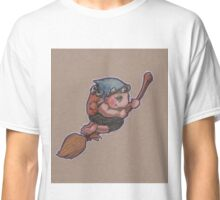 Kitchen Witch (on broom) Classic T-Shirt
