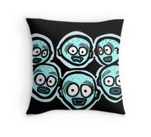 Fear of the Dark COLORIZED Throw Pillow