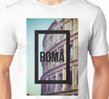 Rome Colosseum Photography Great Wanderlust Unisex T-Shirt