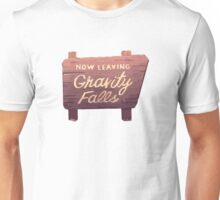 Gravity Falls: Now Leaving Unisex T-Shirt