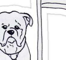 President Dog Sticker