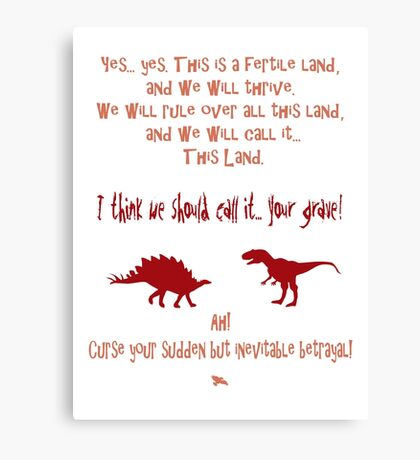 curse your sudden but inevitable betrayal, firefly, red Canvas Print