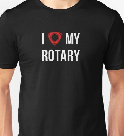 I love my Rotary Unisex T-Shirt