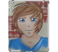 Dan Manga portrait  iPad Case/Skin
