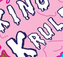 King Krule Ice Cream  Sticker