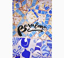 Barcelona Spain Gaudí Pattern Photography Unisex T-Shirt