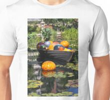 Boat with Glass Balls Unisex T-Shirt
