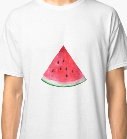 Juicy watermelon. Watercolor Tropical Fruit Classic T-Shirt