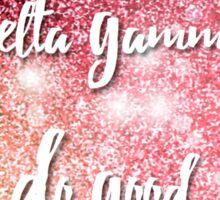 Delta Gamma, Do Good Sparkle Sticker
