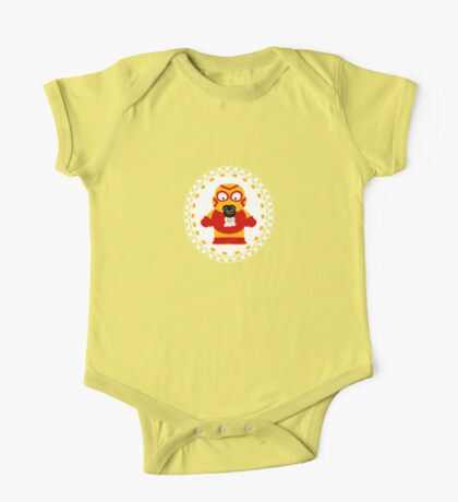 Wrestling Baby One Piece - Short Sleeve