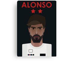 Fernando Alonso 2016 Canvas Print