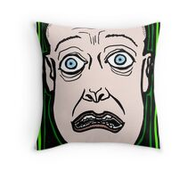 Upon Seeing a Ghost COLORIZED Throw Pillow