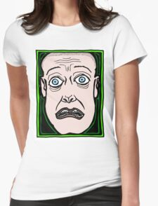 Upon Seeing a Ghost COLORIZED Womens Fitted T-Shirt