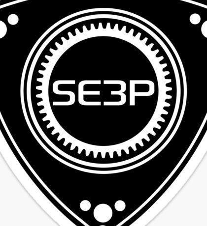 SE3P Rotary design Sticker
