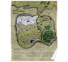 Map of Laminar Poster
