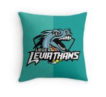 Liege leviathans quidditch - logo Throw Pillow