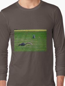 Squirrels on the Hunt Long Sleeve T-Shirt