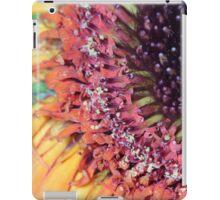 flower pollen abstract background iPad Case/Skin
