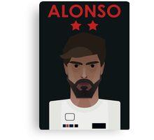 Fernando Alonso 2016 - Colour Canvas Print