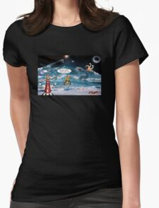 ~ Surf's Up! ~ Womens Fitted T-Shirt