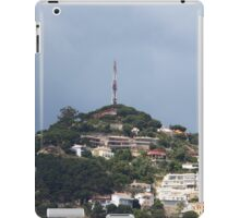 Small quiet town on the hillside iPad Case/Skin
