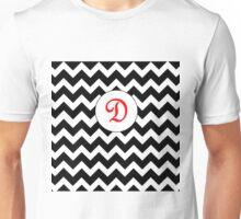 Red D Chevron Unisex T-Shirt