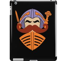 Moustache At Arms iPad Case/Skin