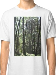 rain in the woods Classic T-Shirt