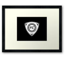 FC Rotary design Framed Print