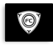 FC Rotary design Canvas Print