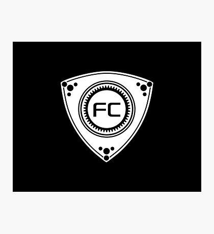 FC Rotary design Photographic Print