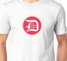 D Red Chevron Unisex T-Shirt