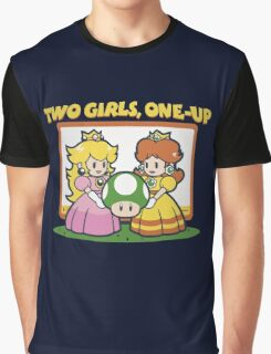 2 Girls, One-Up Graphic T-Shirt