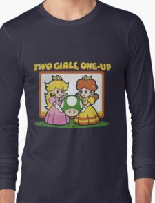 2 Girls, One-Up Long Sleeve T-Shirt