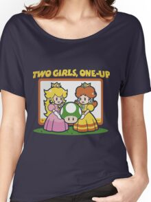 2 Girls, One-Up Women's Relaxed Fit T-Shirt