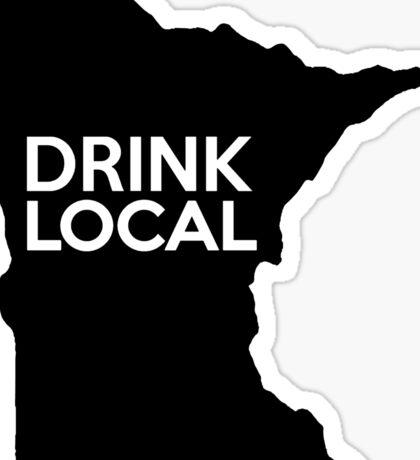 Minnesota Drink Local MN  Sticker