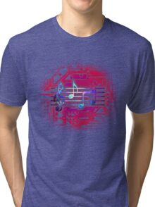 Circuit Notes Tri-blend T-Shirt
