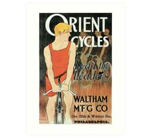 Edward Penfield bicycles ad Lead the leaders American golden age Art Print
