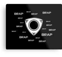 Rotary Brap (the noise a rotary engine makes) Metal Print