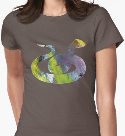 Copperhead (Snake) Womens Fitted T-Shirt