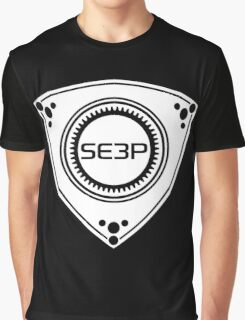 SE3P Rotary design Graphic T-Shirt