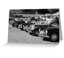 Classics and Vintage Greeting Card