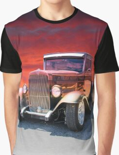 Sunset Ride Graphic T-Shirt