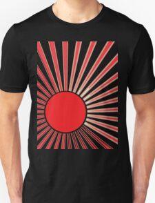 RED SUN RISING Unisex T-Shirt