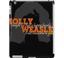 Molly Weasley Taught Me..... iPad Case/Skin