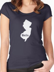 New Jersey Made NJ Women's Fitted Scoop T-Shirt